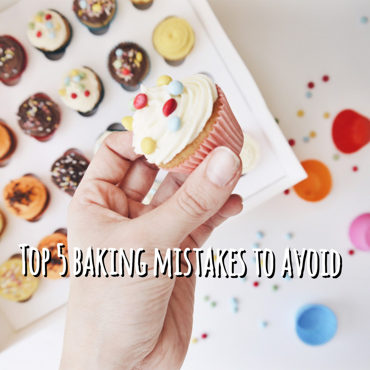 TOP 5 BAKING MISTAKES
